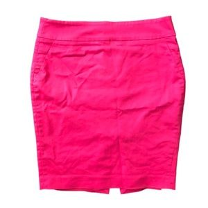 RW&CO hot pink pencil skirt